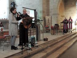 Icône - Célébration du pardon à St Antoi