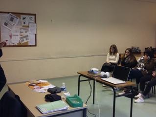 Intervention de Mr Mougin travaillant au Centre de Détention d'Uzerche...