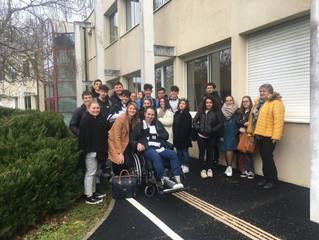 Une rencontre émouvante pour les  1ères SPVL