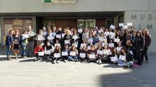 Cinq lycéens de BAHUET se sont envolés pour l'Andalousie