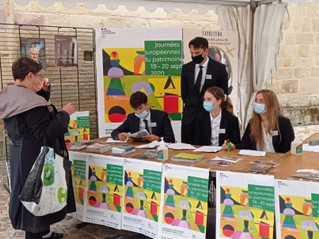 Journées du patrimoine et étudiants de BTS Tourisme : une collaboration fidèle au fils des années.