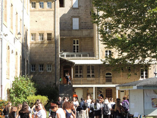 La rentrée des 350 étudiants du Lycée Bahuet