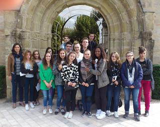 Les 1ST2S du Lycée Bahuet découvrent Brive pendant la Grande Guerre