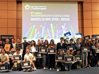 Participation d'élèves au Challenge Destination Entreprises
