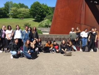 Les élèves de 1ère et Terminale du Lycée, à la rencontre du tourisme de Mémoire