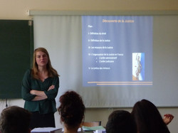 Intervention de Mme Tournier juriste au CDAD - 16-05-2017 - Photo 5