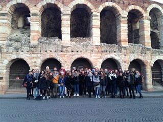 Les étudiants du BTS Tourisme du Lycée Bahuet à la découverte de l'Italie du Nord