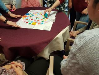 Un moment de partage lors de l'animation à ORPEA organisée par les Premières ASSP Structure