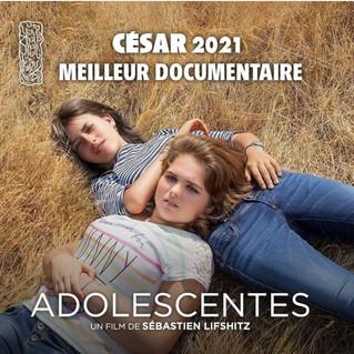 3 récompenses aux Césars pour le film documentaire « Adolescentes »