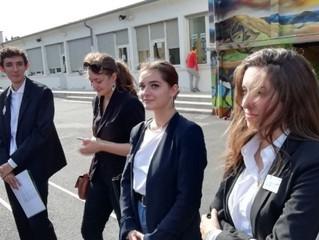 Les étudiants du BTS Tourisme impliqués sur le terrain