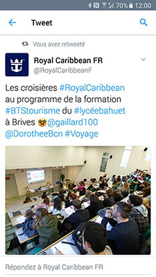 Visioconférence interactive