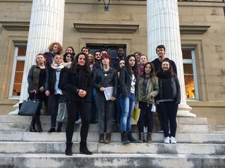 Les deux classes de BTS Tourisme du lycée Bahuet découvrent le tribunal correctionnel de Brive-la-Ga