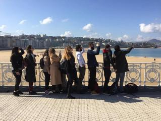 Escapade en terres basques françaises et espagnoles pour les BTS Tourisme du lycée Bahuet
