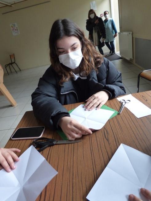Atelier Origamis de Noël - 17-12-2020 -