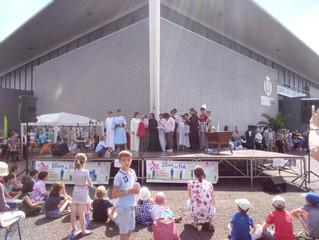19 mai, espace des 3 provinces, un évènement joyeux et signe de la vitalité de l'Eglise