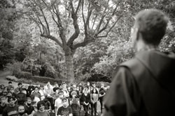 Icône - Rencontre des élèves de 1ère année BTS avec les frères - 14-09-21