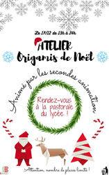 Icône - Atelier Origamis de Noël le 17 d