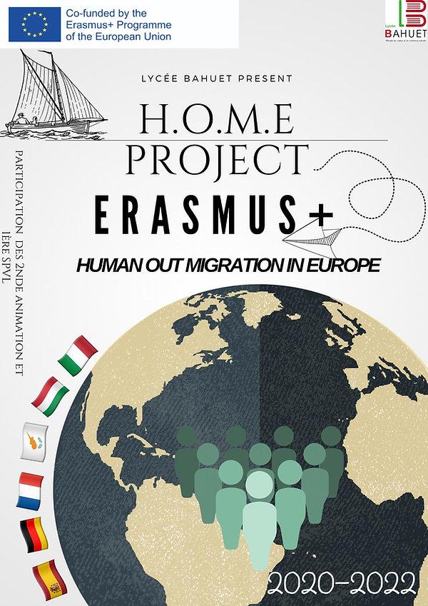 Affiche HOME PROJECT Lycée BAHUET 2020.j