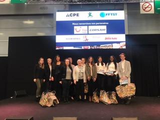 Les étudiants de BTS Tourisme récompensés lors du salon Mondial du Tourisme
