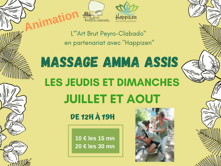 Massages Amma dans le Sidobre - Tarn