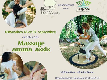 Derniers jours Massages amma
