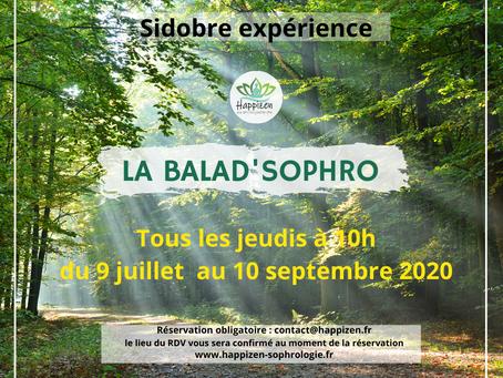 Les Balad'Sophro du Jeudis | Sidobre
