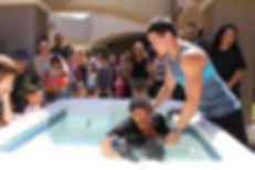 palm canyon church baptism