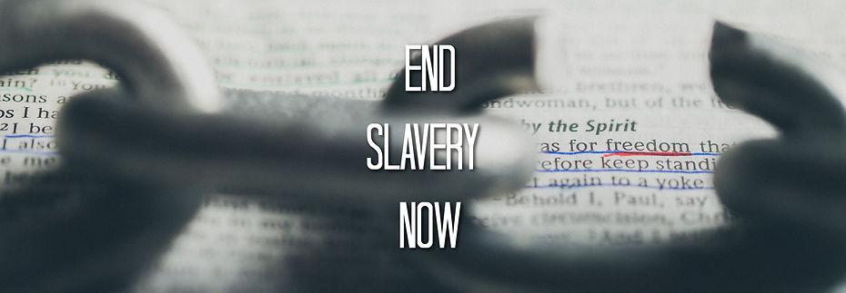 END SLAVERY NOW sermon series. Palm Canyon Chuch