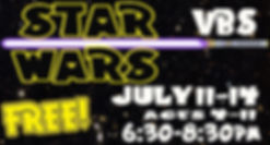 palm canyon church star wars VBS
