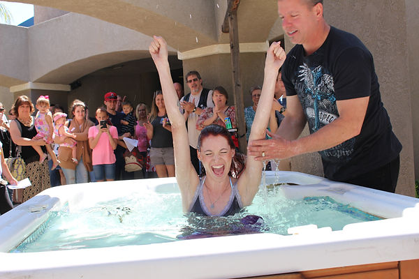 palm canyon church baptism