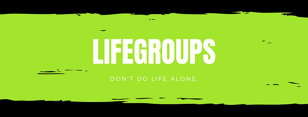 LifeGroups movement church