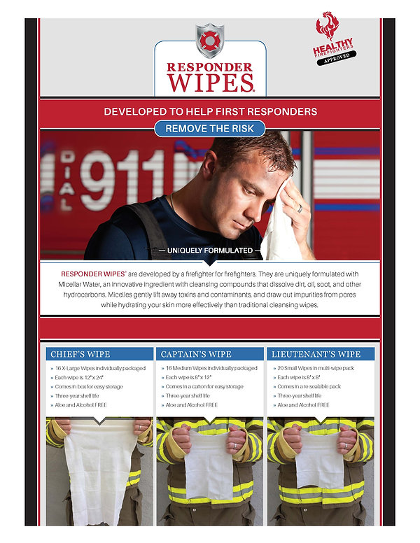 No Pricing Responder Wipes Flyer[214955]