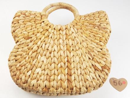 Søgræs taske håndflettet meget stærkt natur materiale