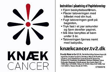 Knæk cancer TV2 op lysnings kampagne m/ kræftens bekæmpelser