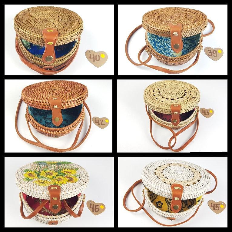 Fashion accesories tasker natur material