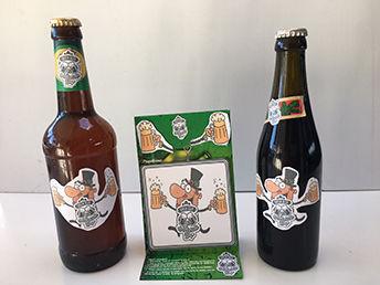 øl brikker & øl ettiketter augmentet animering