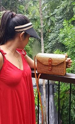 Bæredygtige Håndlavede Bali tasker