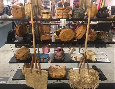 Loving Bali på messe med Bali taskerne