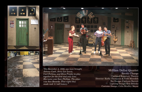 Million Dollar Quartet - Cortland Repertory Theatre
