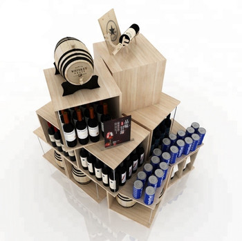 Moodern-Style-Wooden-Wine-Bottle-Display