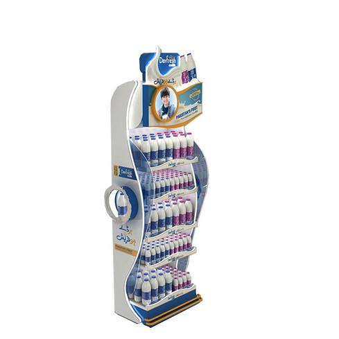 Easy-assembled-yoghourt-Cardboard-Floor-