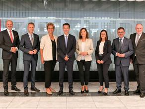Čestitka Werneru Heriću na potvrdi kao zemaljskoga direktora ORF-a Gradišće