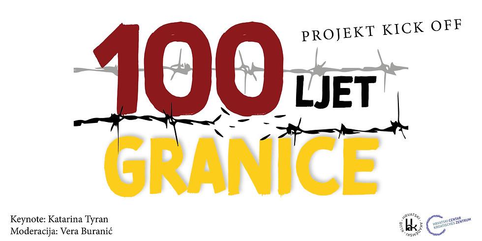 100 LJET GRANICE: Kick off