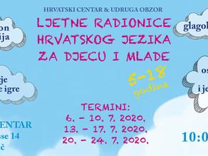 Prve Ljetne radionice 'pun pogodak' Hrvatskog centra u Beču i 'Obzora'