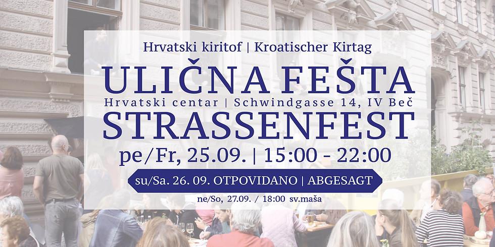 Ulična fešta&Hrvatski kiritof 2020 - Straßenfest&Kroatischer Kirtag 2020