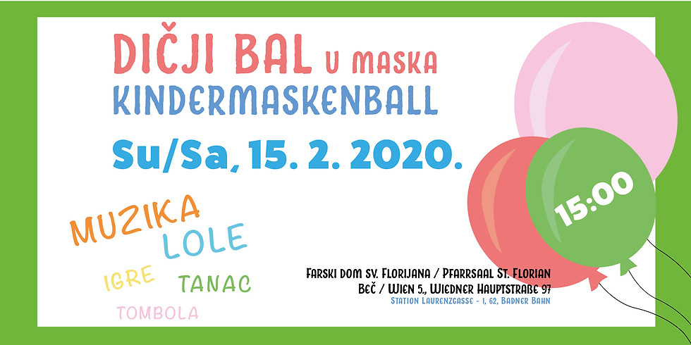 Dičji bal u maska / Kindermaskenball