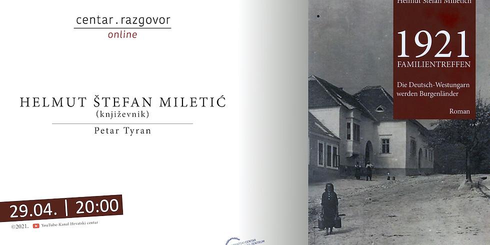 Centar.Razgovor   Centar.Gespräch: Helmut Stefan Milletich
