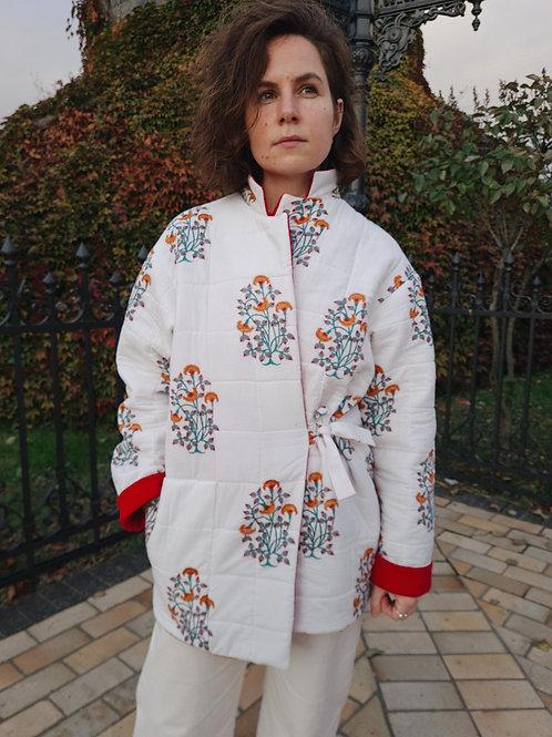 Crocus quilted jacket