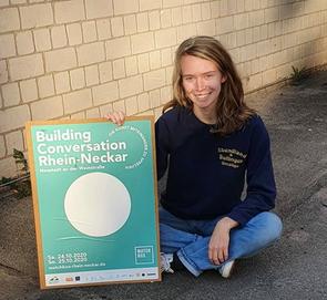 Milena als Community Management des Projekts Building Conversation im Abendland