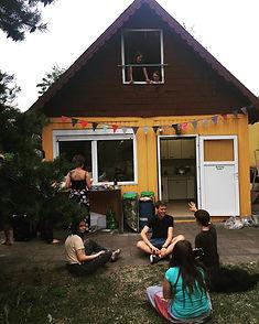 Hütte im Abenteuerland